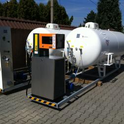 Čerpací stanice LPG kompakt
